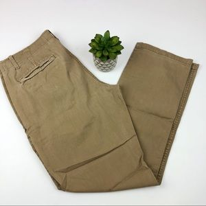 Gap Lived In Slim Tan Khaki Pants Men Size 32x30